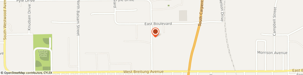 Route/map/directions to APPLIED IRON MOUNTAIN, 49802 Kingsford, 641 N Hooper St