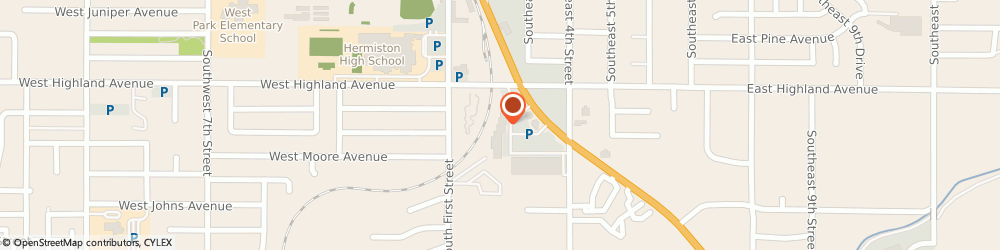 Route/map/directions to H&R Block, 97838 Hermiston, 860 S Hwy 395