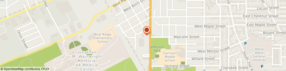 Route/map/directions to H&R Block, 99362 Walla Walla, 636 S Ninth Ave