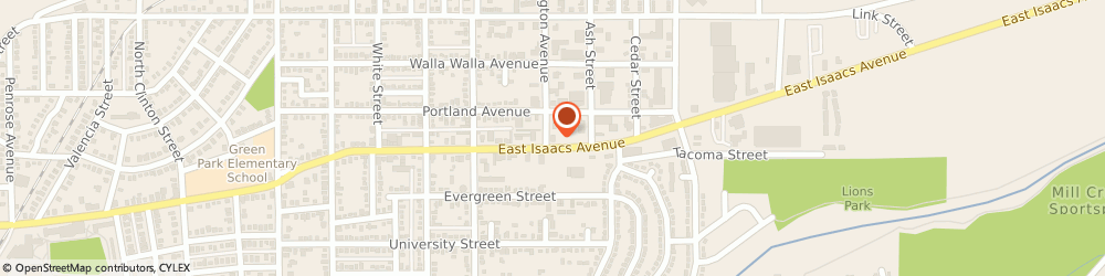 Route/map/directions to Arby's, 99362-2209 Walla Walla, 1815 E Isaacs Ave