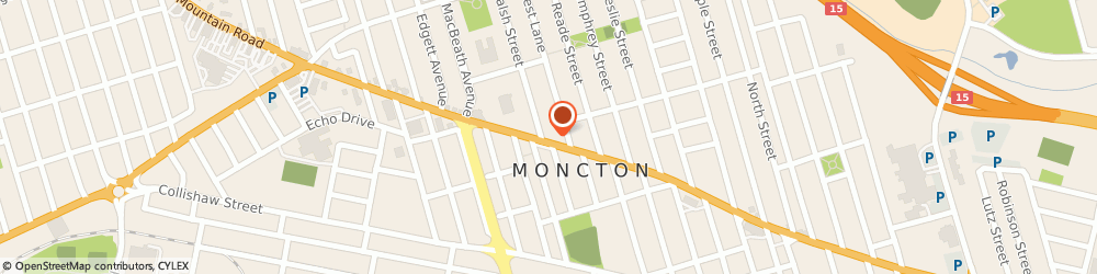 Route/map/directions to Beam-Kelly's Vacuum, E1C 2P2 Moncton, 647 Mountain Rd