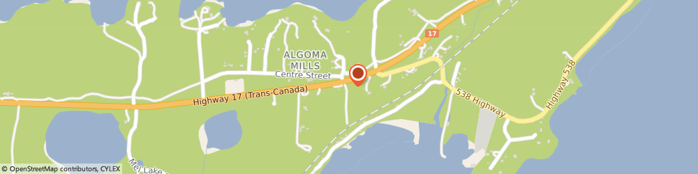 Route/map/directions to Lafarge, P0R 1A0 Algoma Mills, 3136 A Serpent Harbour