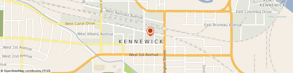 Route/map/directions to Boys & Girls Clubs of America KENNEWICK, 99336 Kennewick, 20 N Benton St