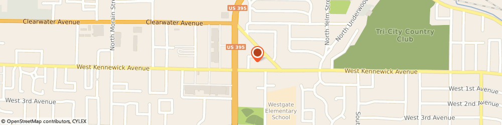 Route/map/directions to Little Caesars Pizza, 99336 Kennewick, 2632 W. Kennewick Ave.