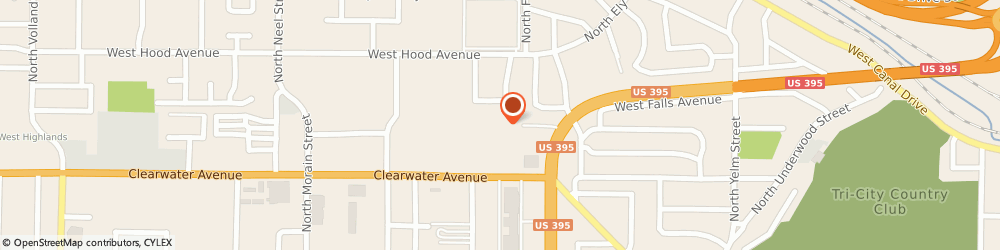Route/map/directions to Panda Express, 99336 Kennewick, 401 North Ely Stree