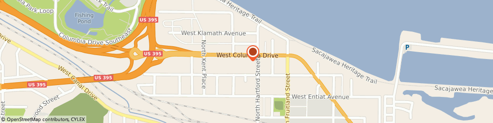 Route/map/directions to Firestone Retailer, 99336 Kennewick, 813 W. Columbia Drive
