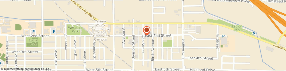 Route/map/directions to Wm Financial Services, 98930 Grandview, 200 E 2ND ST