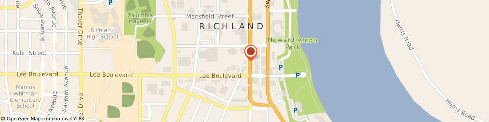 Route/map/directions to Washington Mutual-Financial Center, 99352 Richland, 711 JADWIN AVE