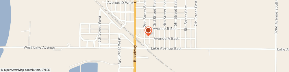 Route/map/directions to United Methodist Church, 58561 Napoleon, 221 2ND STREET EAST