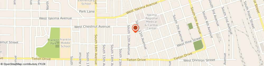 Route/map/directions to Proguidance Wealth Advisors - Ameriprise Financial Services, LLC, 98902 Yakima, 213 S 12th Ave