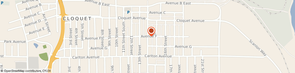 Route/map/directions to Navy Federal Credit Union, 55720 Cloquet, 101 14Th Street