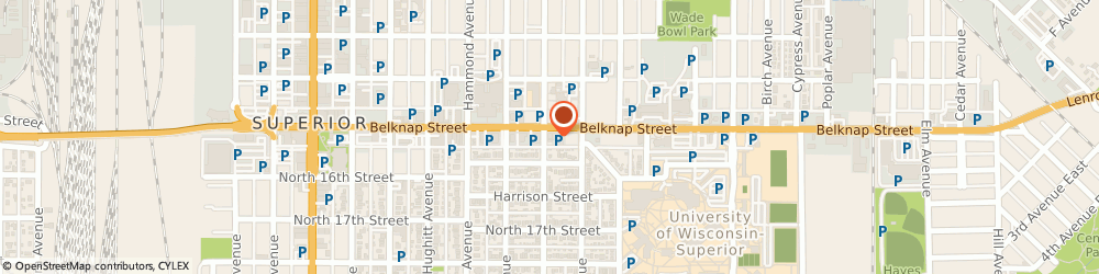 Route/map/directions to People's Drug Store, 54880 Superior, 1124 Belknap Street