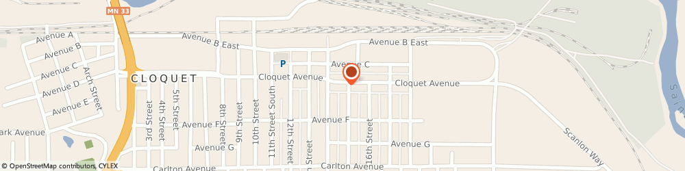 Route/map/directions to Citibank ATM, 55720 Cloquet, 1420 Cloquet Avenue