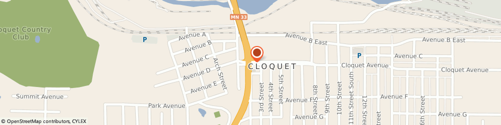 Route/map/directions to RE/MAX Cloquet, 55720 Cloquet, 35 14Th St