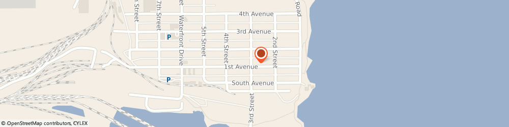 Route/map/directions to Joan Burke Realty, 55616 Two Harbors, 235 1st Ave