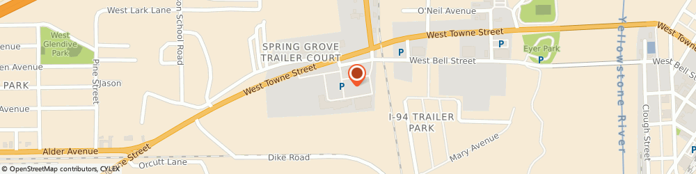 Route/map/directions to Wells Fargo GLENDIVE, 59330 Glendive, 1515 West Bell