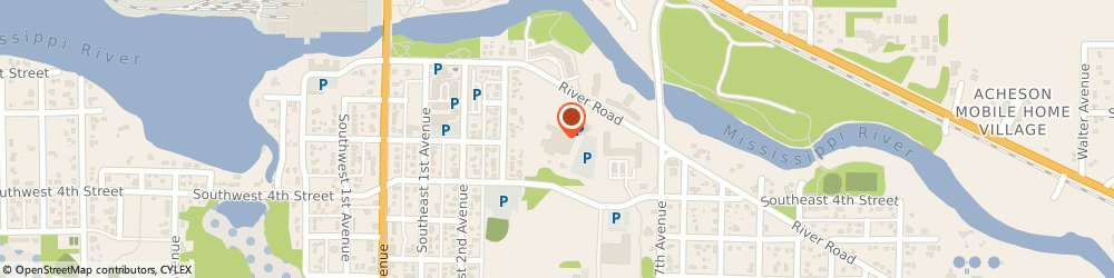 Route/map/directions to Itasca County Family YMCA, 55744 Grand Rapids, 400 River Rd