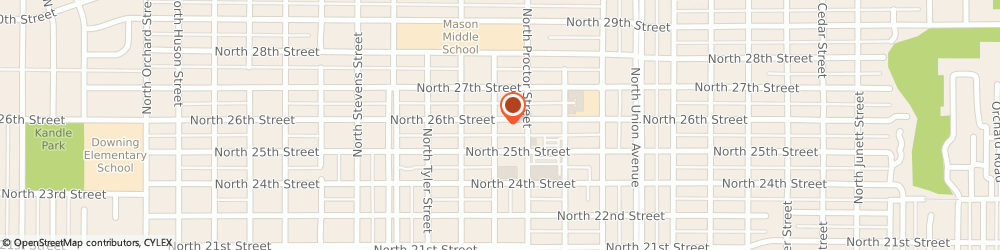 Route/map/directions to Navy Federal Credit Union, 98407 Tacoma, 3916 North 26Th Street