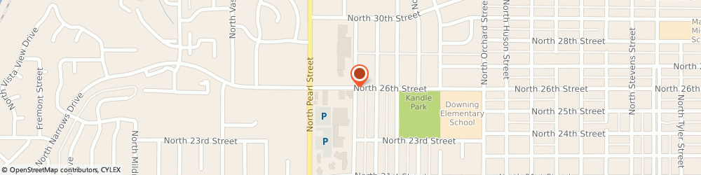 Route/map/directions to Curves For Women, 98407 Tacoma, 5719 N 26TH ST