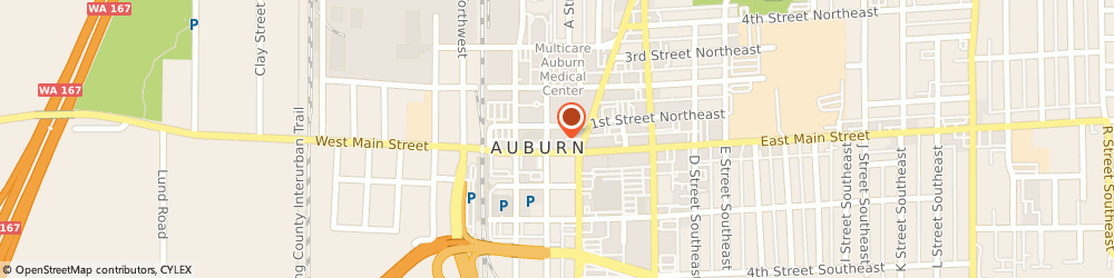 Route/map/directions to Test Me DNA - Auburn, 98002 Auburn, 1 E Main St