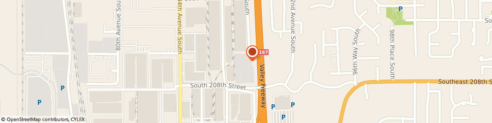 Route/map/directions to H&E Equipment Services, 98031 Kent, 8810 S 208th St