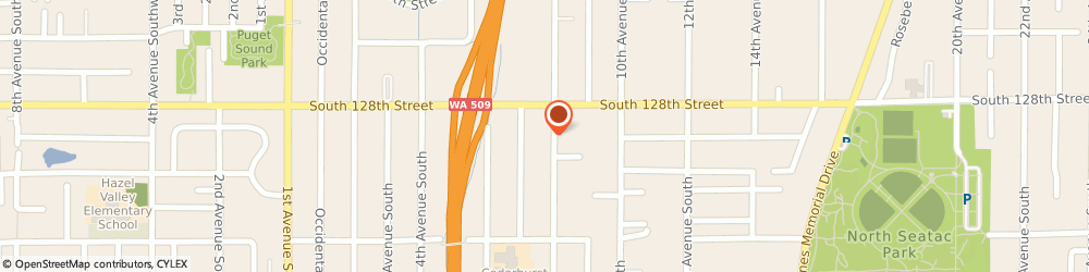 Route/map/directions to m & m Repair, 98168 Burien, 12831 8TH AVENUE SOUTH