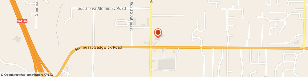 Route/map/directions to Gallery Of Hair Design, 98367 Port Orchard, 1703 Se Sedgwick Rd Ste105