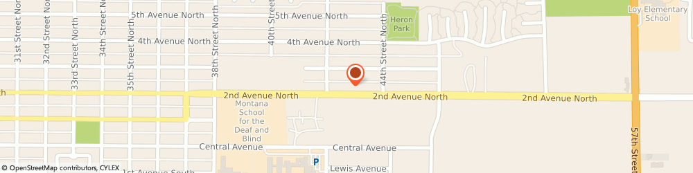 Route/map/directions to Associated Veterinary Services, 59405 Great Falls, 4217 2nd Ave N