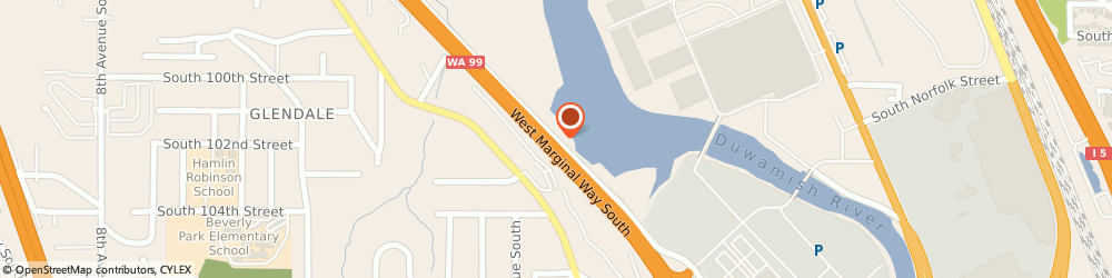 Route/map/directions to Tukwila Towing-a Road One Co, 98168 Seattle, 10140 WEST MARGINAL PLACE SOUTH