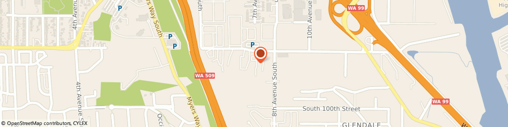 Route/map/directions to Allied Body Works, 98108 Seattle, 625 S. 96th Street