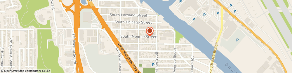 Route/map/directions to Sharkey Ralph, 98108 Seattle, 727 SOUTH MONROE STREET
