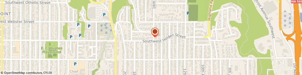 Route/map/directions to Citibank ATM, 98106 Seattle, 1600 Sw Holden St.