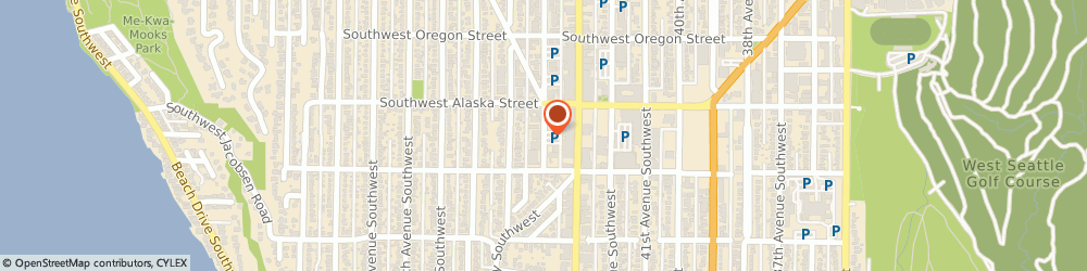 Route/map/directions to STATE FARM Terry Gangon, 98116 Seattle, 4727 44Th Ave Sw, Ste 100