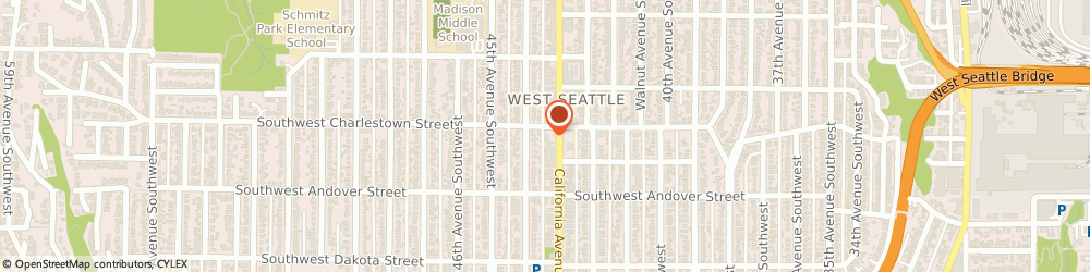 Route/map/directions to Citibank ATM, 98116 Seattle, 3801 California Ave Sw