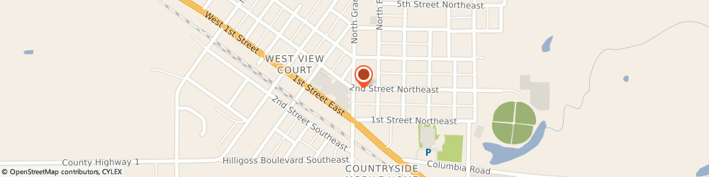 Route/map/directions to Fosston United Methodist Church, 56542 Fosston, 406 2ND ST NE