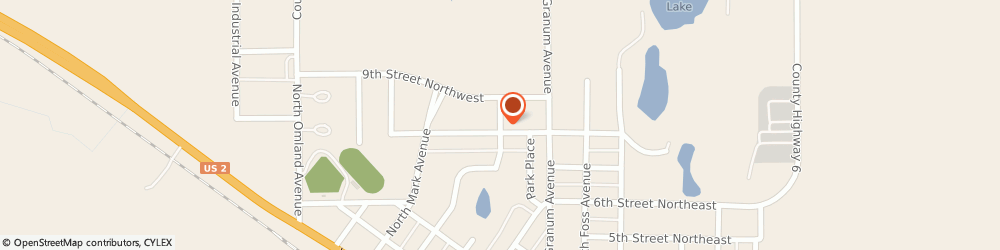 Route/map/directions to Fosston United Methodist Church, 56542 Fosston, 820 MARY AVENUE NORTH