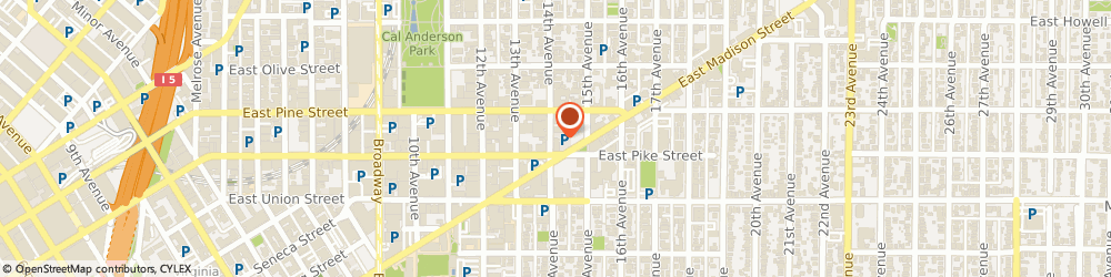 Route/map/directions to STATE FARM Ezra Teshome, 98122 Seattle, 1510 14Th Avenue