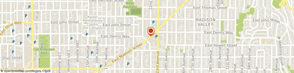 Route/map/directions to Firestone Retailer, 98112 Seattle, 2102 E. Madison Street