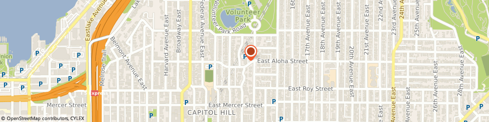 Route/map/directions to Seventh-Day Adventist Church SEATTLE, 98102 Seattle, 1300 E Aloha St