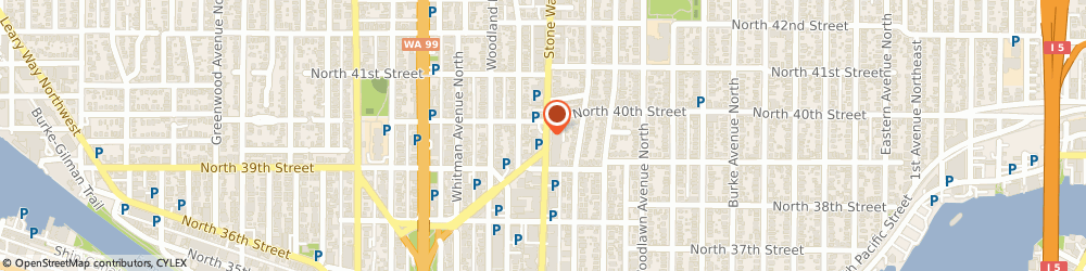 Route/map/directions to Citibank ATM, 98103 Seattle, 3939 Stone Way N