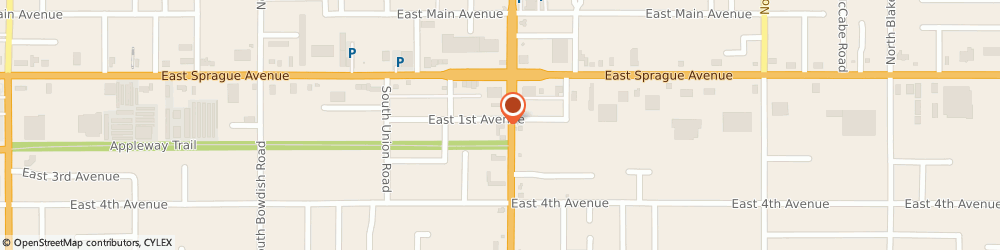 Route/map/directions to Advance Auto Parts, 99206 Spokane, 110 S Pines Road