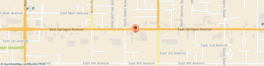 Route/map/directions to Ray & Roy's Repair, Inc., 99216 Spokane, 13524 E Sprague Ave #6