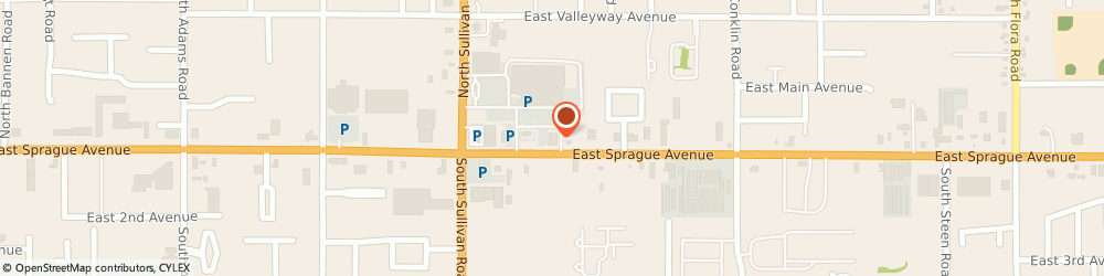 Route/map/directions to STATE FARM Emily Cutler, 99037 Spokane Valley, 15701 E Sprague Ave