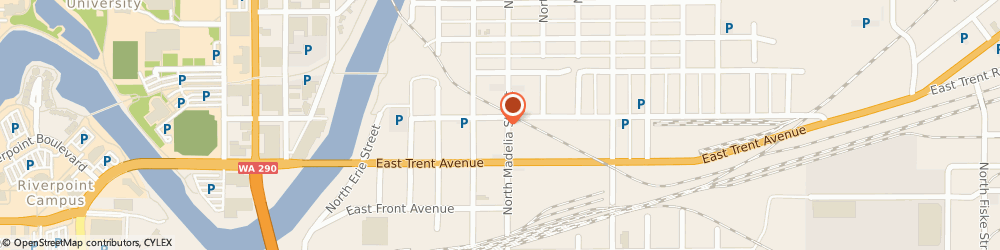 Route/map/directions to Auto Service Centre, LLC, 99202 Spokane, 633 N Madelia St