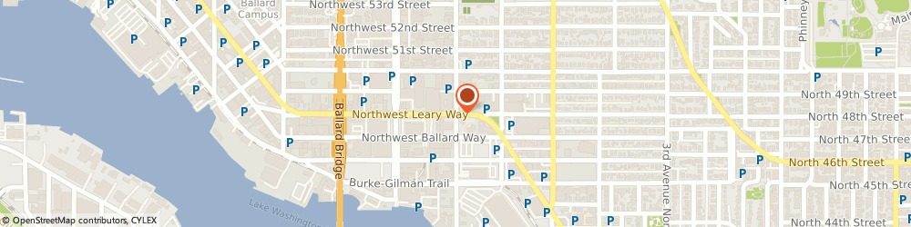Route/map/directions to Citibank ATM, 98107 Seattle, 999 Nw Leary Way @ 11Th Ave N