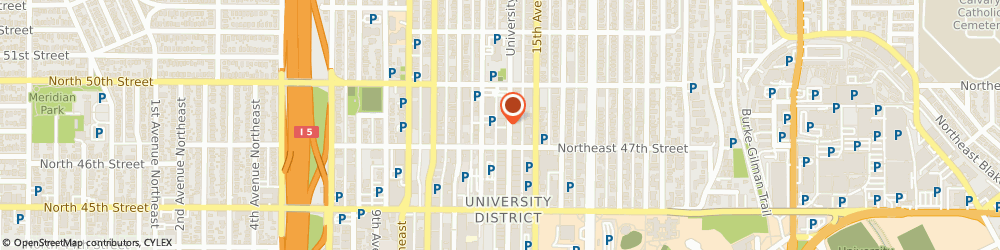 Route/map/directions to STATE FARM Alex Bagdasarov, 98105 Seattle, 4719 University Way Ne Ste 202