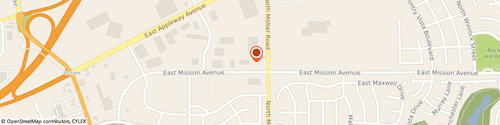 Route/map/directions to Emily Osborne - State Farm Insurance Agent, 99019 Liberty Lake, 23403 E Mission Ave Suite 117