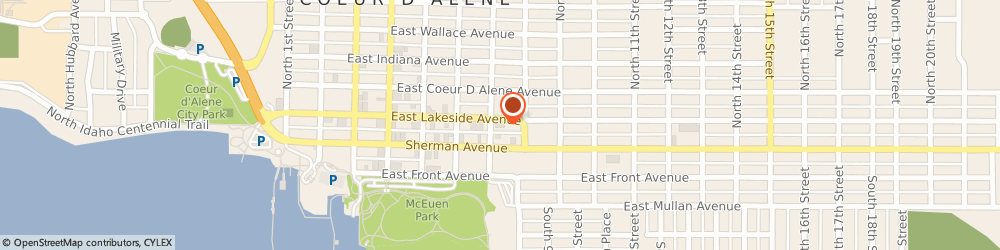 Route/map/directions to Alcoholics Anonymous, 83814 Coeur D'alene, 118 NORTH 7TH STREET SUITE B5