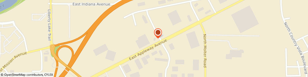 Route/map/directions to Navy Federal Credit Union ATM, 99019 Liberty Lake, 2201 N Madson Rd