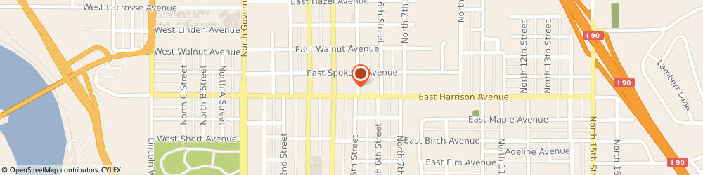 Route/map/directions to Goodwill Industries of the Inland Northwest, 83814 Coeur D' Alene, 1212 N. Fourth Street